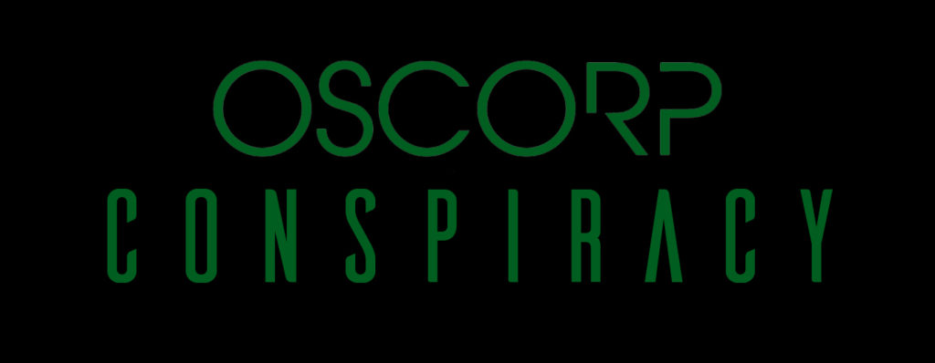 This image has an empty alt attribute; its file name is Oscorp_Conspiracy_logo_2-1024x398.jpg